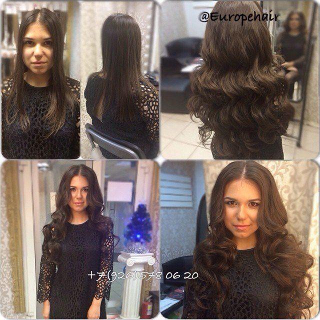 Волосы на трессах славянские волосы